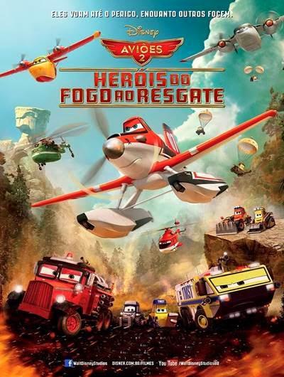 Baixar Aviões 2 Heróis do Fogo ao Resgate AVI + RMVB Dublado Torrent