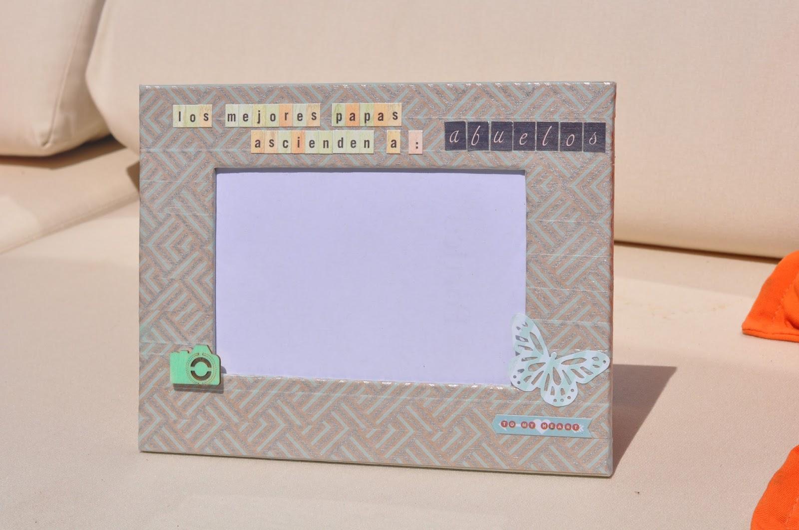 Marco para el día de los Abuelos: DIY - Handbox Craft Lovers ...