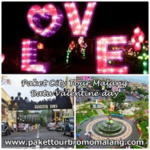 Paket City Tour Malang Batu Valentine Day