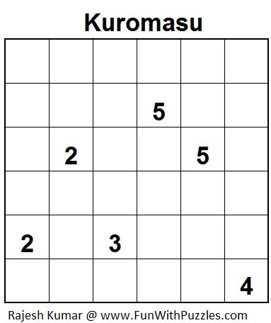 Kuromasu (Mini Puzzles Series #9)