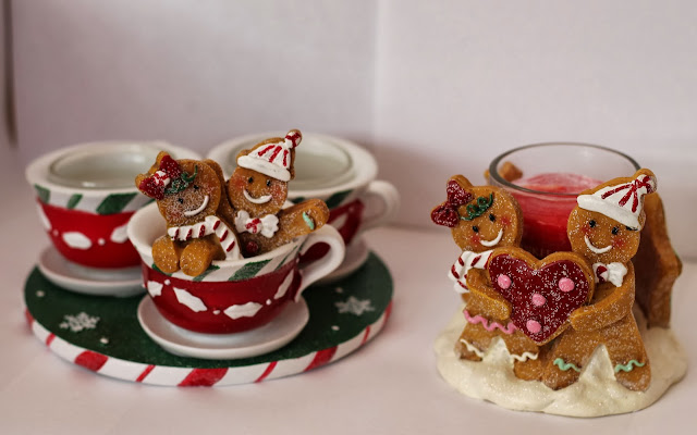Gingerbread Man Presents Yankee Candle