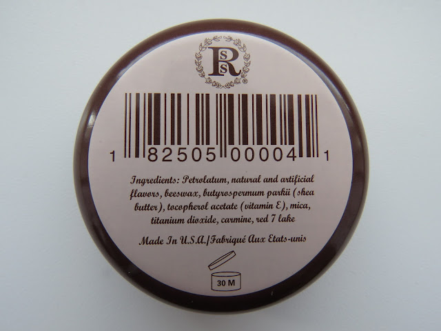 Brambleberry Rose Lip Balm - ingredients