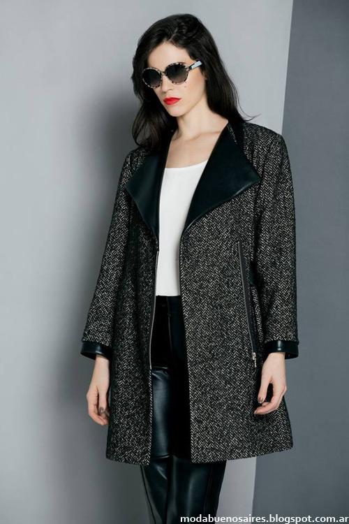 Tapados y abrigos de moda invierno 2014 Ruben Cassin.