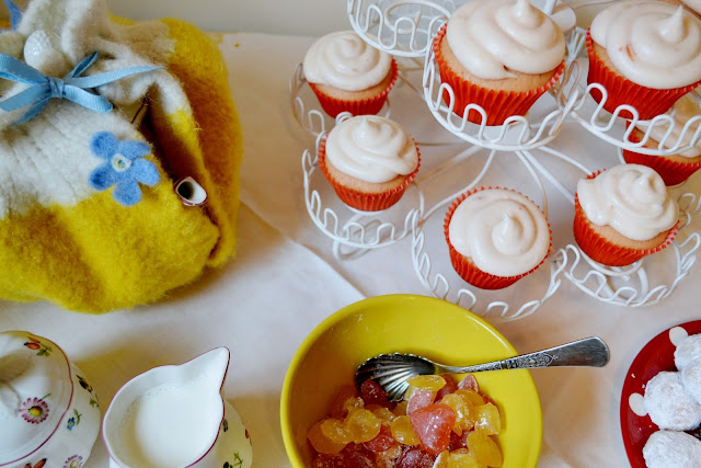 tea party, diy, baking, villeroy and boch, cupcakes, fleur d'elise