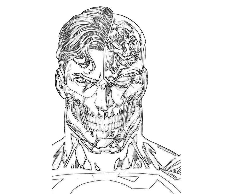 Cyborg Superman Face |...