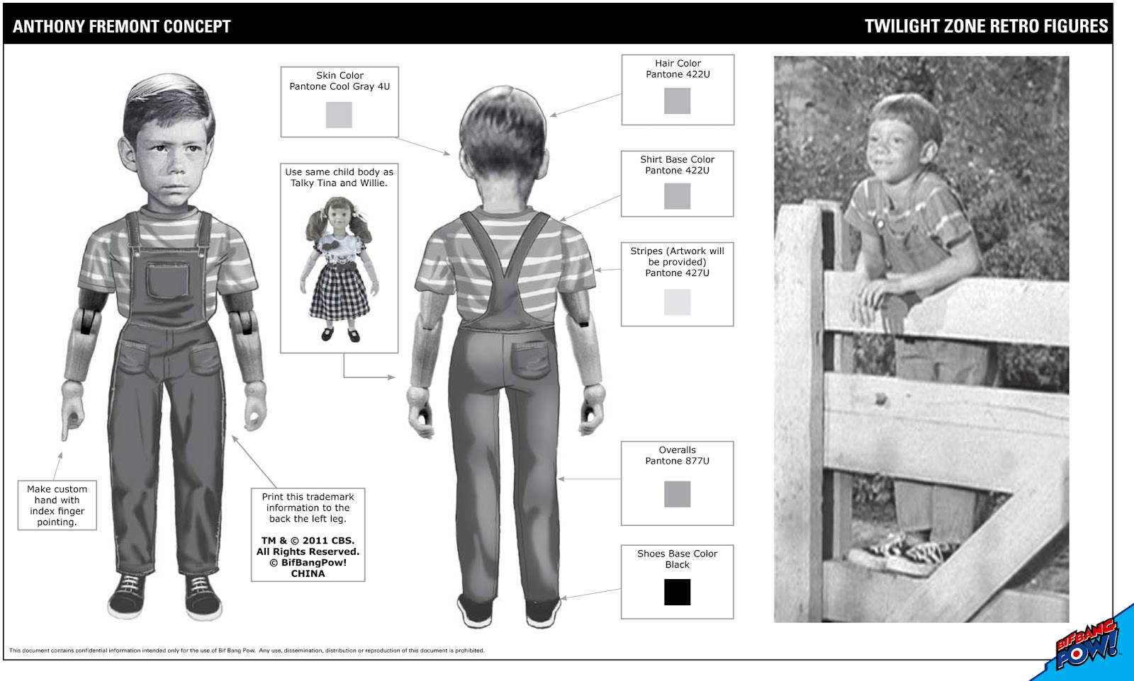 """The Twilight Zone 3.75/"""" Action Figure The BAGPIPER collectible Details about  /Rod Serling"""