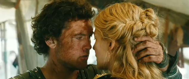 Wrath of the Titan 2012 action adventure fantasy sequel starring Sam Worthington as Perseus and Rasamund Pike as Andromeda romance