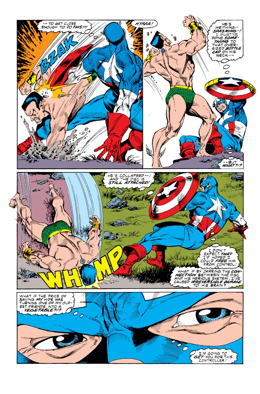 Captain America (1968) Issue #365 #298 - English 17