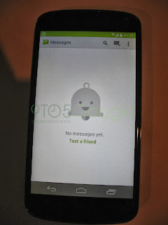Android 4.4 KitKat Messasge Box