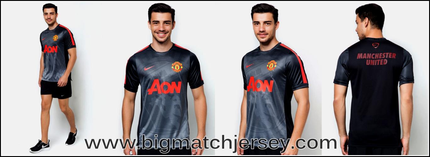 Kaos Bola GO Pre-Match Manc.United Black 2015