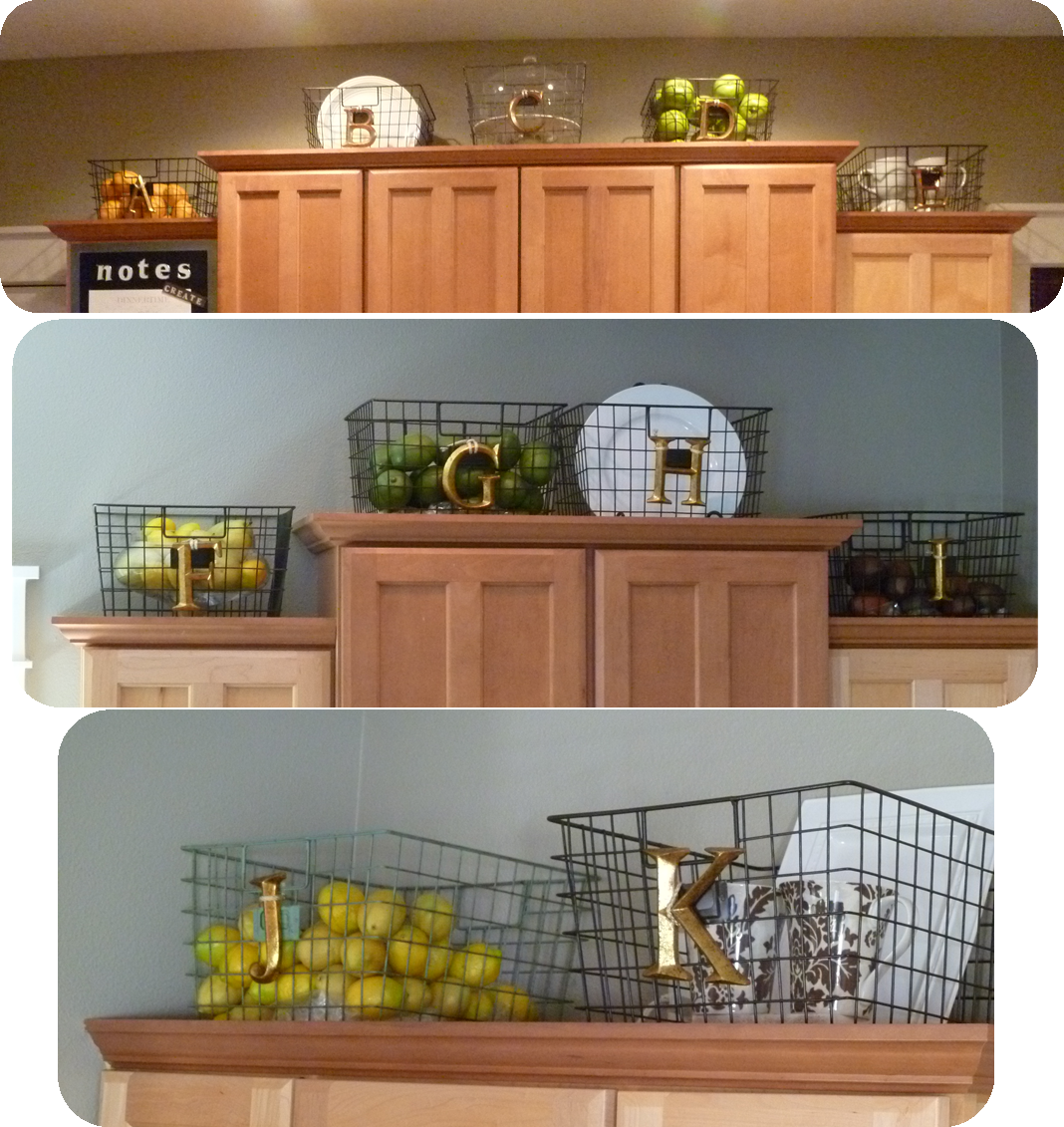 My suite bliss kitchen baskets for Baskets for kitchen cabinets