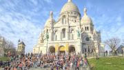 Basilica of the Sacred Heart of Paris Montmartre (hdr basilica of the sacred heart of paris montmartre )