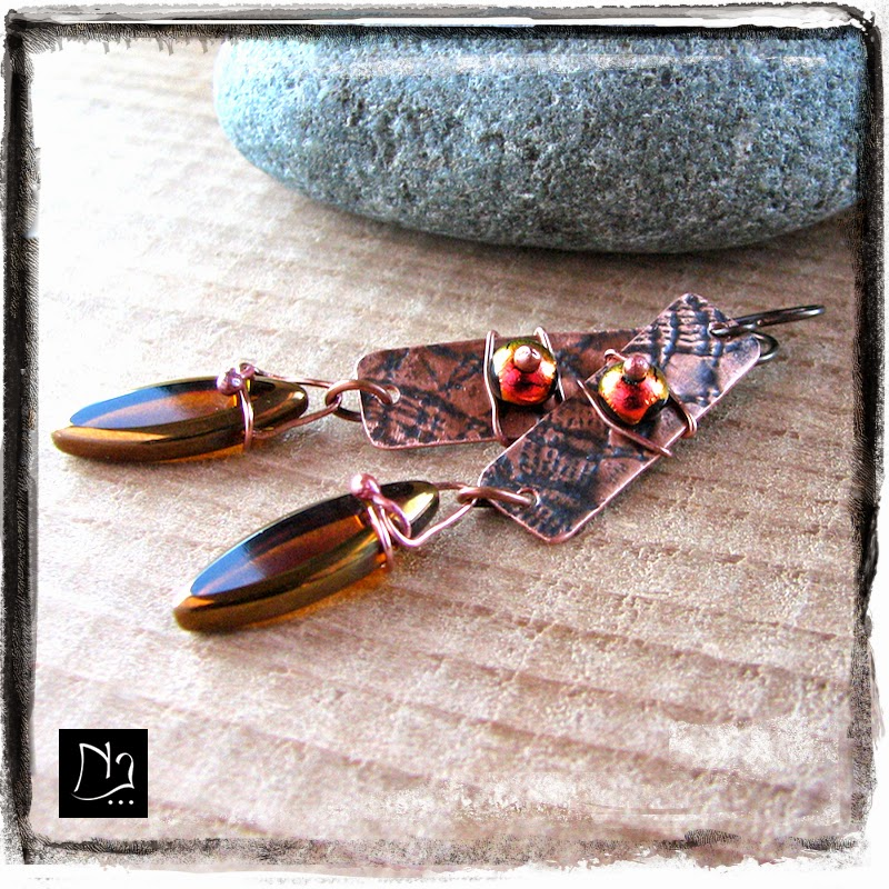 http://www.nathalielesagejewelry.com/collections/handcrafted-earrings/products/fire-dichroic-glass-copper-drops-earrings
