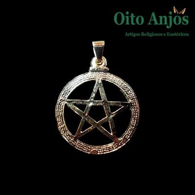 Colar Pentagrama| Oito Anjos Artigos Religiosos e Loja Esotérica