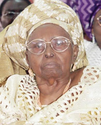 Chief Mrs H.I.D Awolowo dies in her sleep at 99