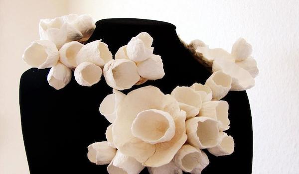 Eco wedding design : Eco gioielli: la collana che si modella.