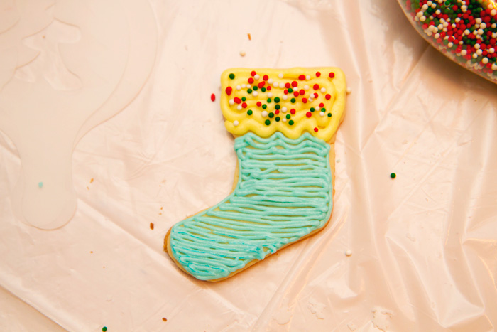 Christmas Cookie Stocking