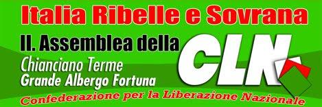 """""""SIAMO PAZZI ARRENDETEVI!"""" - II. ASSEMBLEA-FORUM  DELLA CLN"""
