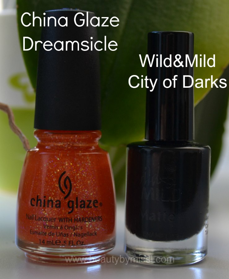China Glaze Dreamsicle, Wild&Mild City of Darks