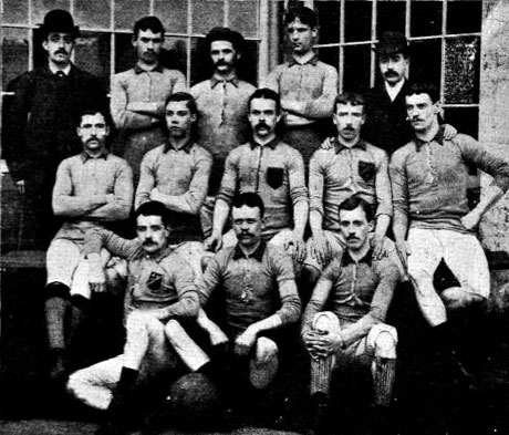 The club was founded in 1875, and played their first F.A.Cup tie on 1st  November 1879.