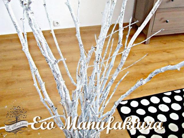 diy z gałęzi w skandynawskim stylu diy with branches in Scandinavian style Eco Manufaktura