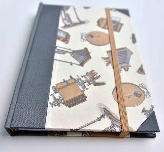 cuaderno goma
