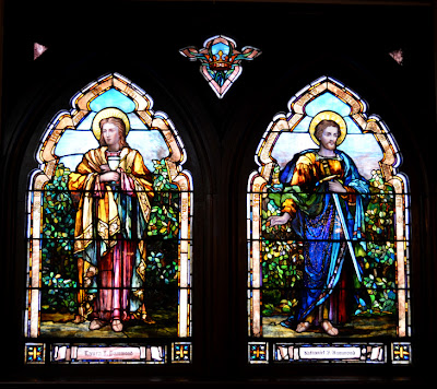 Atlanta First United Methodist Church, Tiffany Windows
