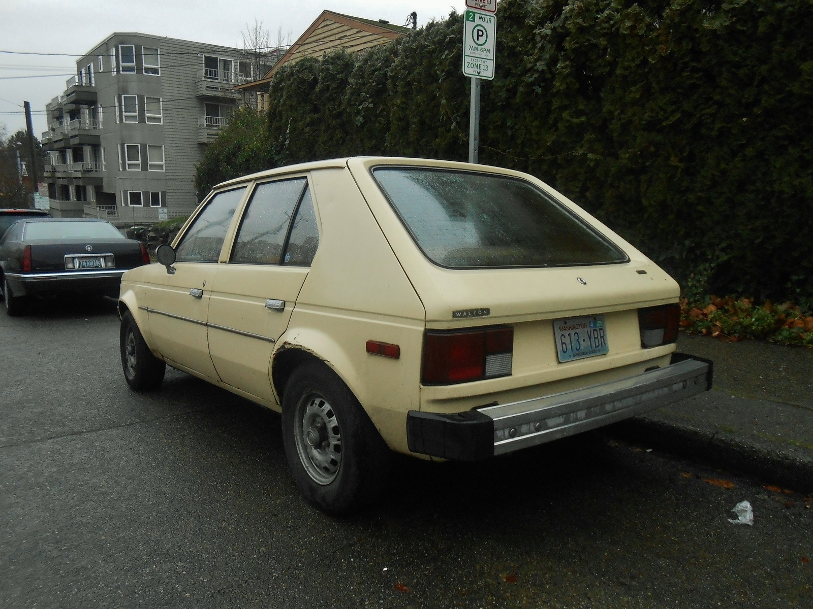 Seattle S Parked Cars 1982 Plymouth Horizon