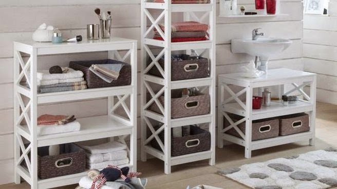 Meuble de rangement salle de bain meuble d coration maison for Meuble rangement bois salle de bain