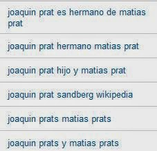 Búsquedas Palabras a punto, Joaquín Prat, Matías Prats