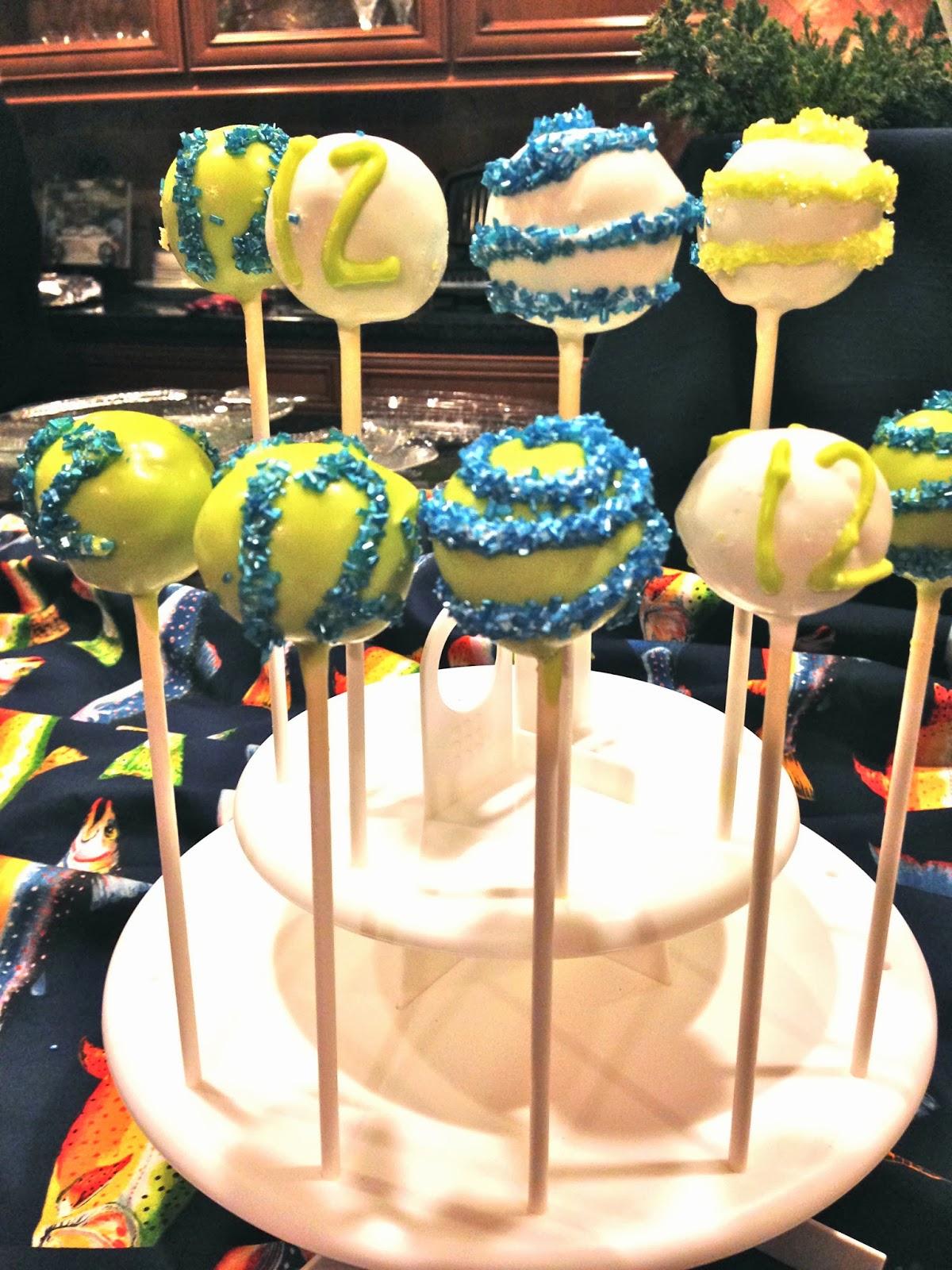 Seahawks Cake Pops 12th Man Cake Pops