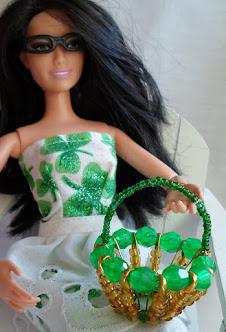 bead and safety pin basket for barbie