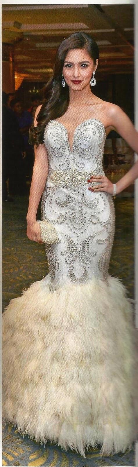 Modern Roxanne Guinoo Wedding Gown Illustration - Images for wedding ...