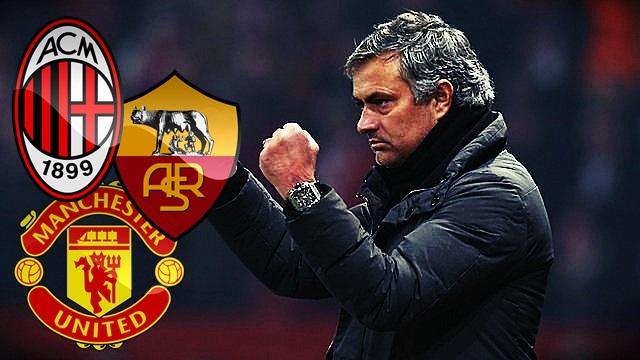 Milan, United e Roma: Os possíveis destinos de Mourinho