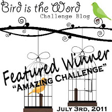 Bird is the Word ~ Amazing Challenge