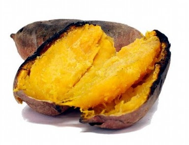 hot sweet potato