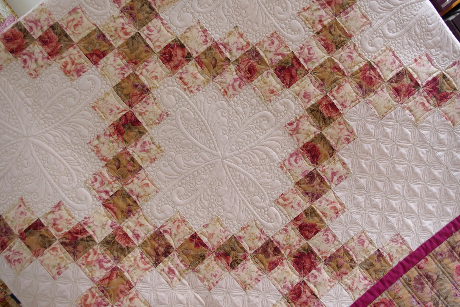 Quilts on Bastings: Double Irish Chain Quilt