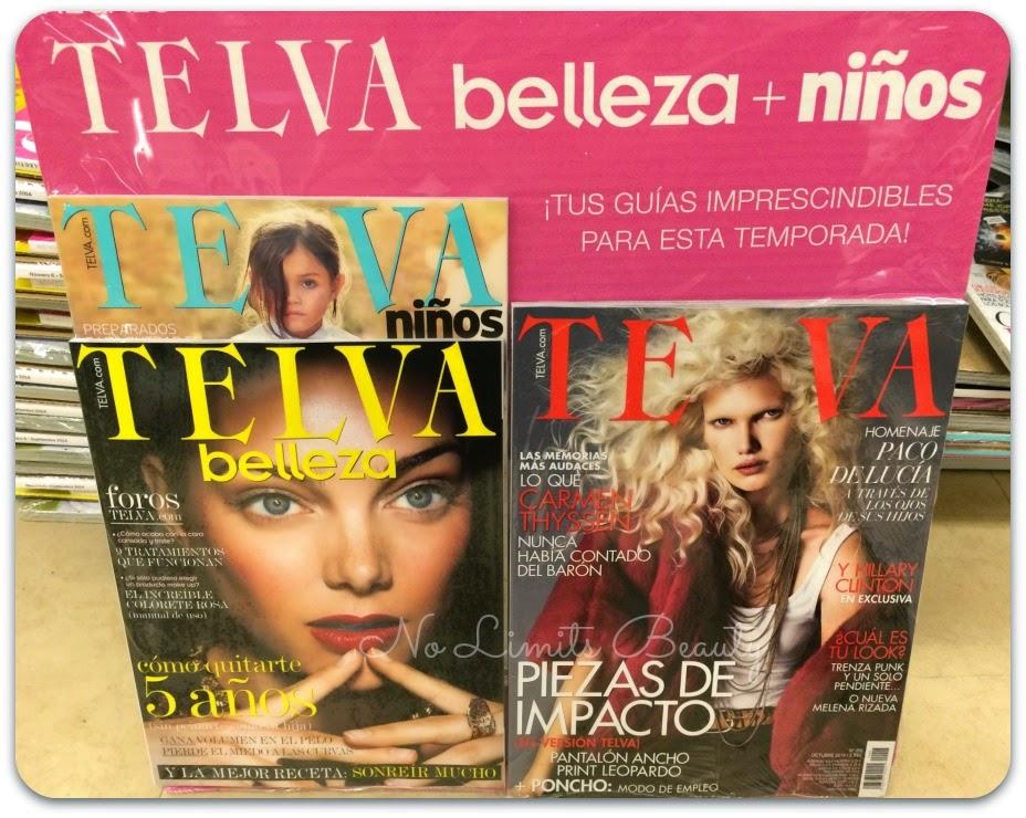 Regalos revistas Octubre 2014: Telva