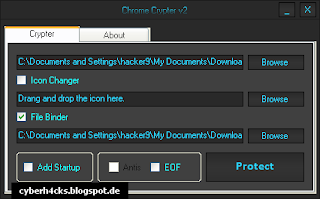 Chrome Crypter - Android Apps and SEO Tools