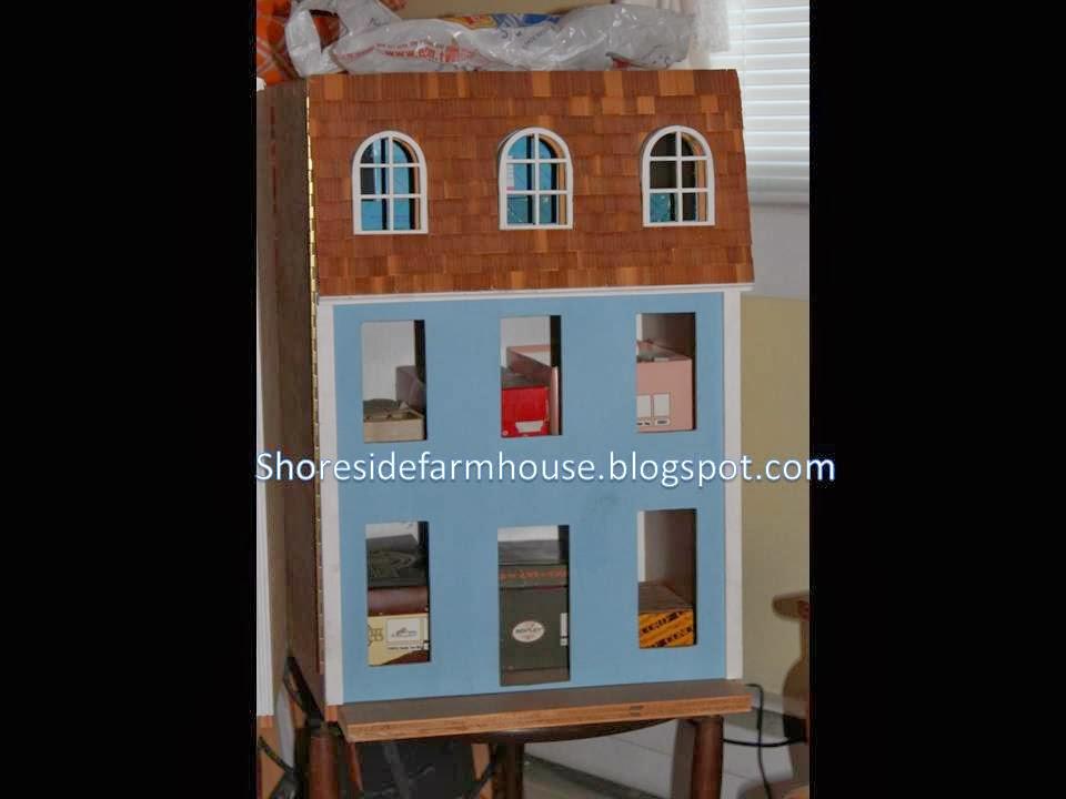 House Construction Doll House Victorian Mansard Style Homemade
