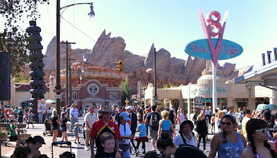 Cars Land Radiator Springs Racers Review