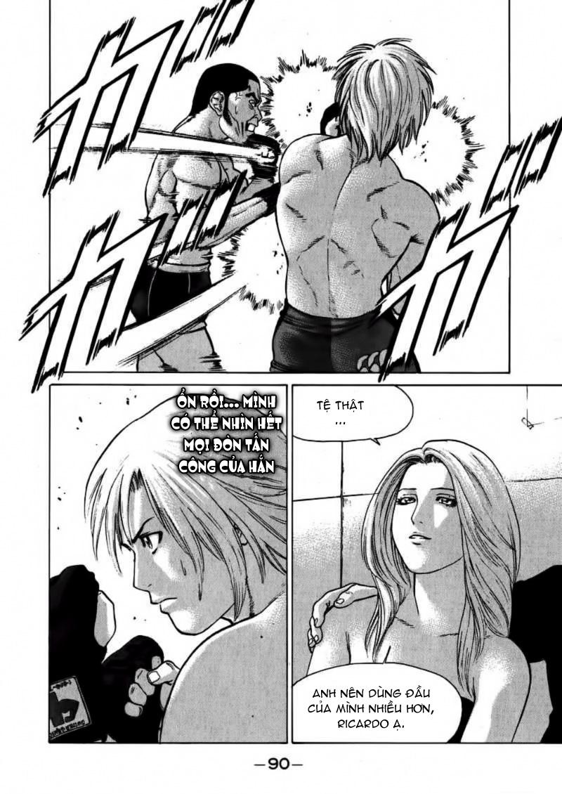Karate Shoukoushi Kohinata Minoru chap 58 Trang 14