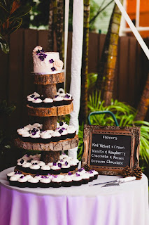 rustic wedding cake orlando