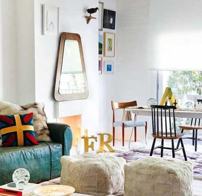 Teal Color Living Room