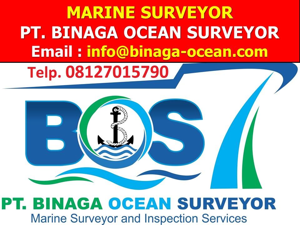 0812-701-5790 (Telkomsel) Marine Surveyor PT.Binaga Ocean Surveyor (BOS)