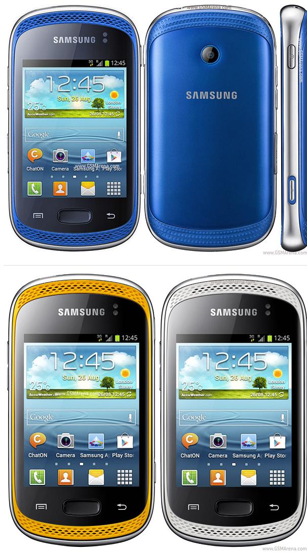 Spesifikasi Samsung Galaxy Music Duos S6012