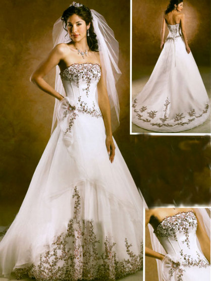 Unique Stylish Wedding Dresses : From the form and choose a wedding dress that is as unique you are