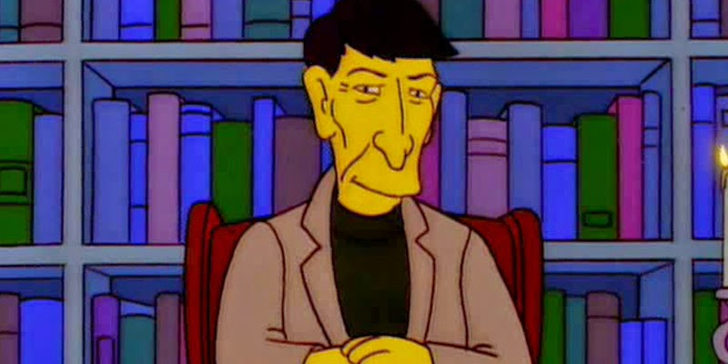 Leonard Nimoy - The Simpson