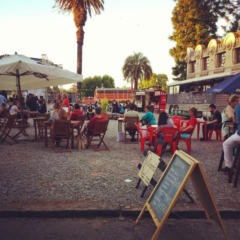 Feira Gastronômica em Montevidéu