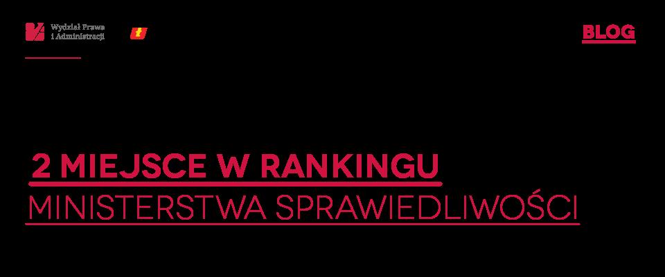 Wydział Prawa i Administracji Uniwersytetu Łódzkiego- oficjalny blog